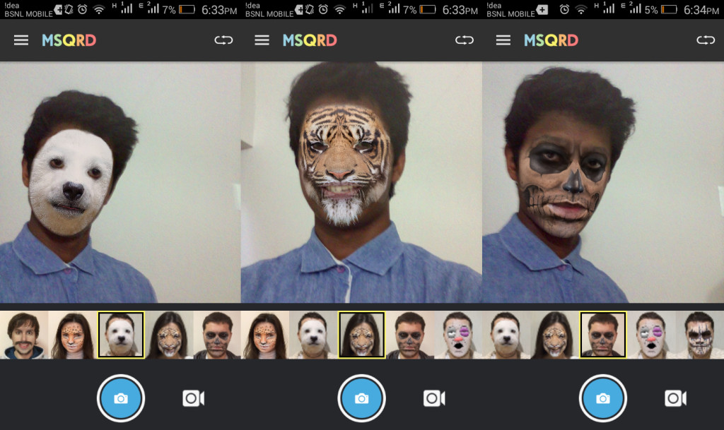 MSQRD App goes viral on the Google Play store; Masquerade yourself in selfie videos 2