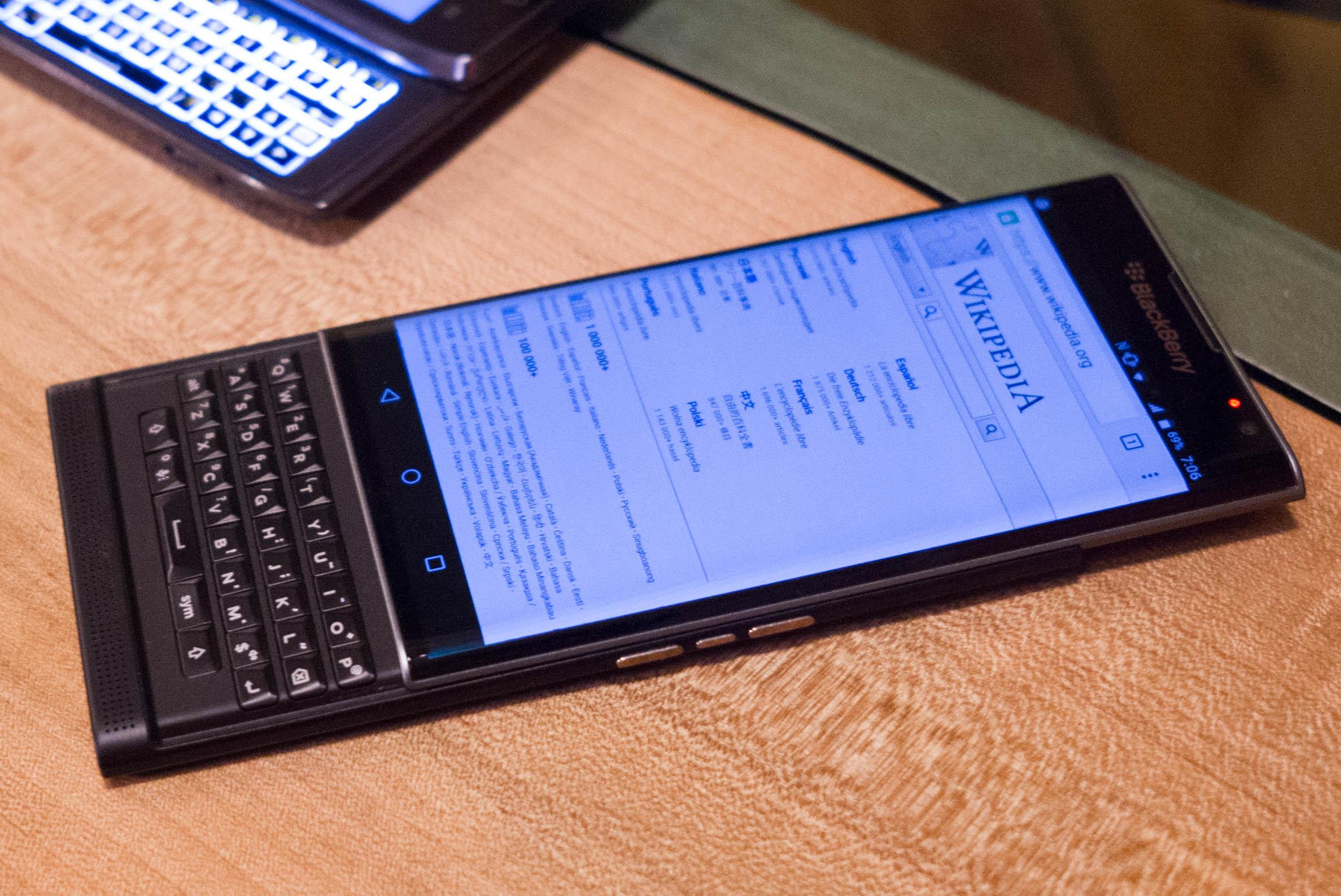 Blackberry priv AT&T