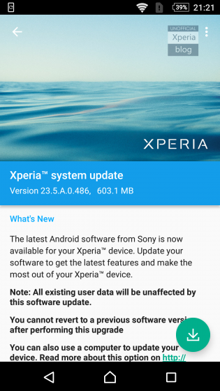 Android MarshMallow update for Sony Xperia Z2, Z3 and Z3 Compact rolling out now 6
