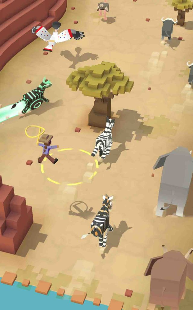 Rodeo Stampede is coming to Play Store on June 23 from the developers of Crossy Road 4