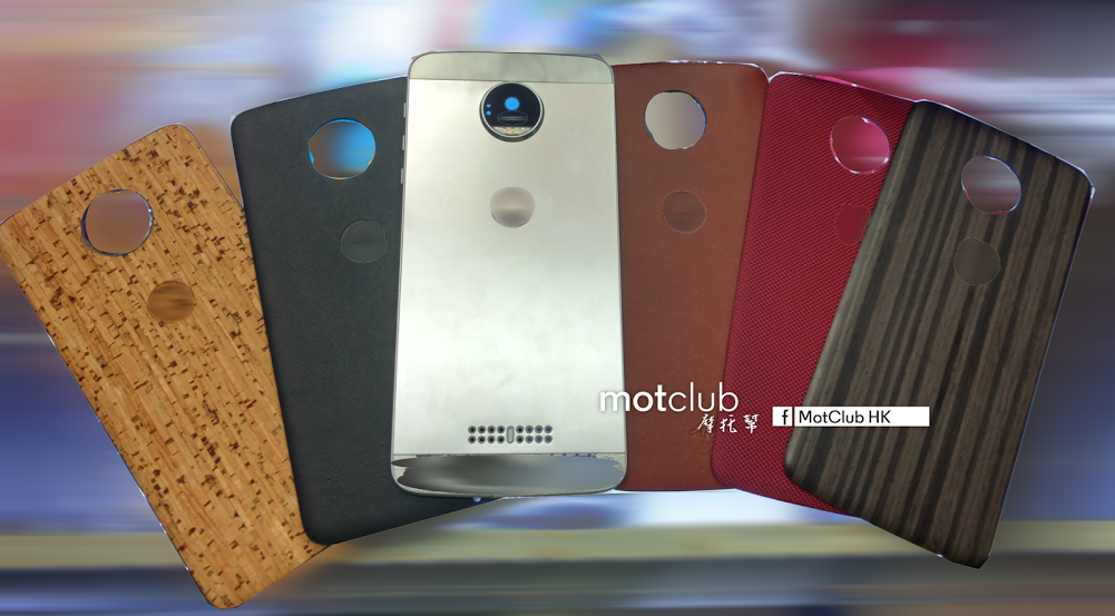 Moto Z with StyleMods surfaced in leaked images 1