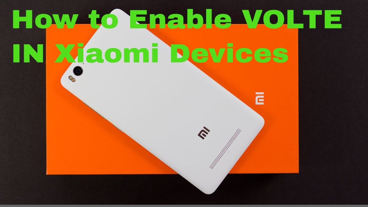 how to enable volte in xiaomi