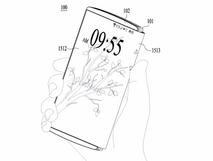 LG patents the foldable smartphone-tablet Hybrid 1