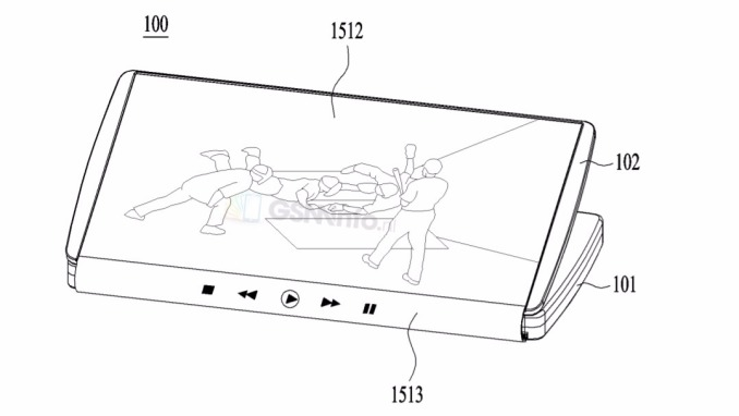 LG patents the foldable smartphone-tablet Hybrid 4