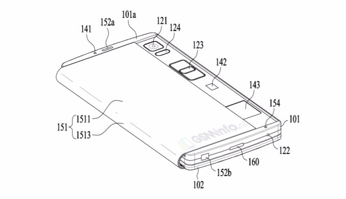 LG patents the foldable smartphone-tablet Hybrid 2