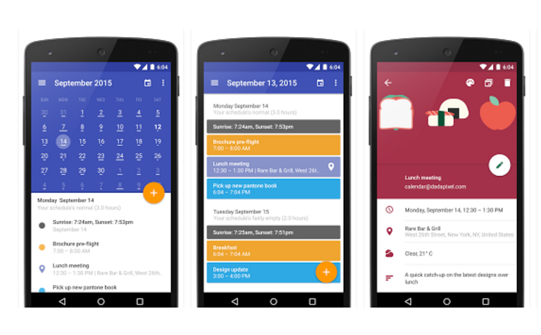 5 best calendar apps