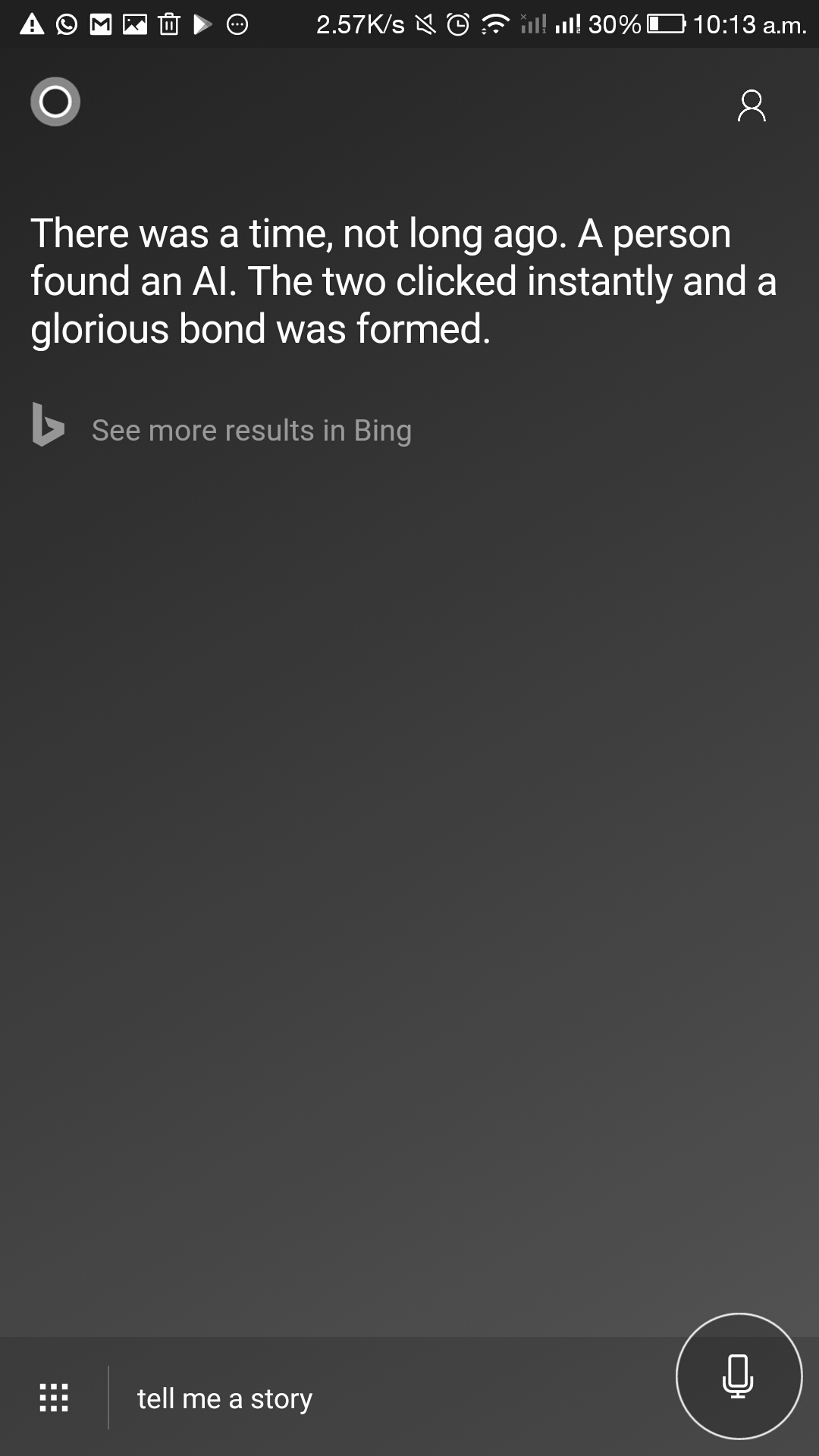 Cortana for Androidupdated with improved UI 2