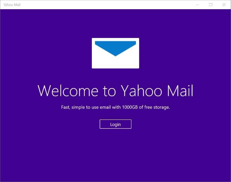 yahoo mail login screen - photo #39