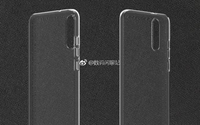 Case renders for Huawei P20 and P20 Plus leak; shows camera design 1