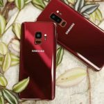 Galaxy S9 and S9+ in Burgundy Red color coming soon 1